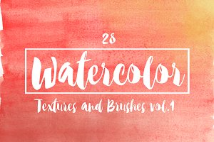 28 Watercolor Tool Pack 1
