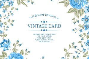 12 Vintage Card Templates