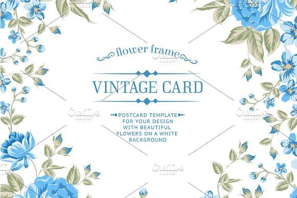 12 vintage card templates card templates creative market