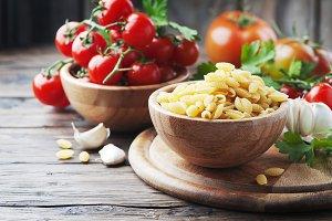 Sardinian pasta with tomato