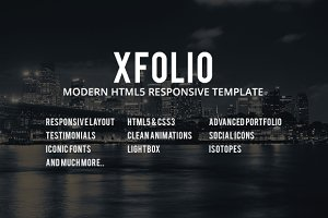 Xfolio -Responsive Business Template