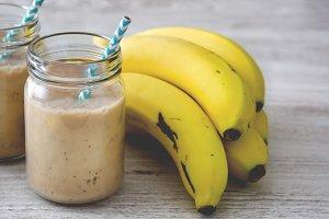 Banana smoothi