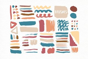 Freehand Vector Brushes