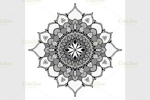 Mandala Ethnic Ornament