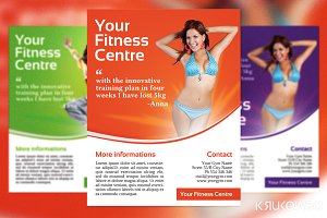 Fitness Centre Flyer