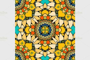 Seamless vector colorful pattern.