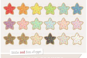 Star Cookie Clipart