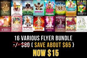 Various Flyer Bundle Part 1