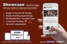 Showcase - Landing Page