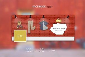 Facebook clothes shop cover
