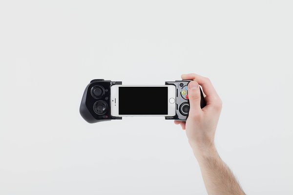 Moga gamepad whit iphone