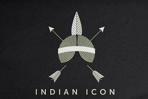 Indian Icon Vector