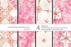 Candy Wraps Venezia 1921 Pattern