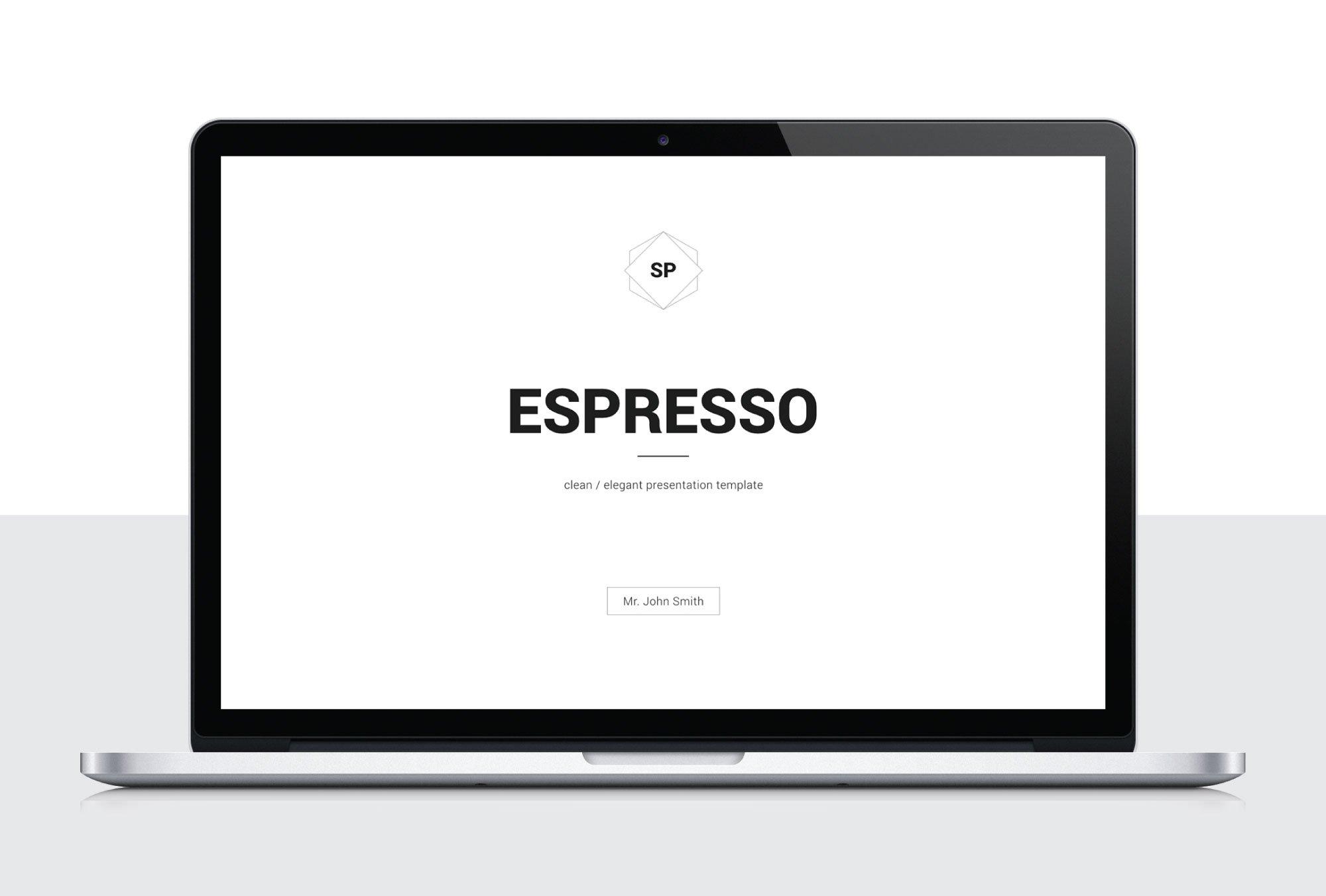 espresso minimal keynote template presentation templates. Black Bedroom Furniture Sets. Home Design Ideas