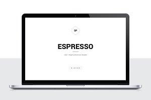Espresso Minimal POWERPOINT Template
