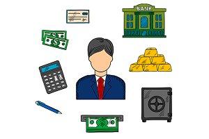 Banker profession