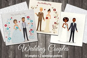 Cute Wedding Couples