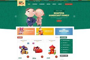 Babyshop- Website Template