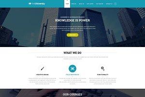 University- Business website templat