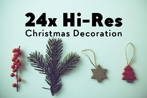 24x Hi-Res Christmas Images
