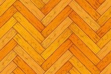 Bright wooden parquet pattern