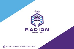 Radio Logo Template