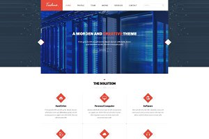 Techno - Multipurpose PSD Template