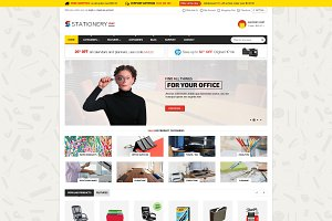 Stationery - MultiStore Template