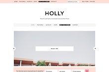 Holly, Genesis Theme / WooCommerce