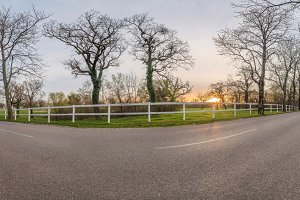 Road to Lipica farm