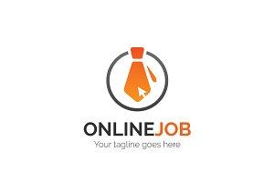 Online Job Logo
