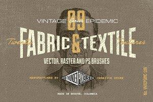 20 Fabric & Textile Textures - VES09