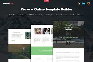 Wave + Online Template Builder
