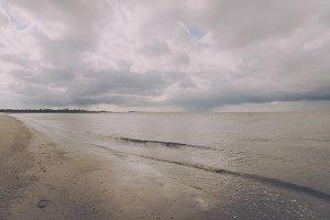 Clouds over the North Sea Coast