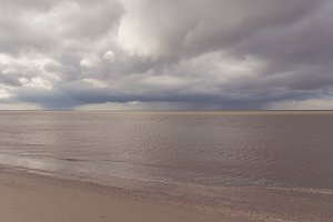Clouds over the North Sea Coast