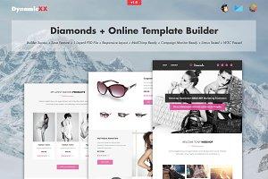 Diamonds + Online Template Builder