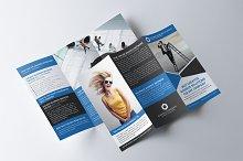 Creative Warna Trifold Brochure