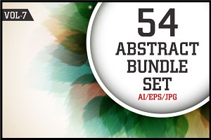 Creative Abstract Bundle Vol - 7