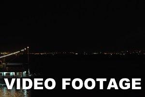 Boat with illumination sails