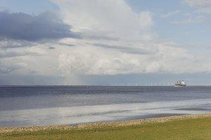 North Sea Coast (Vintage Look)