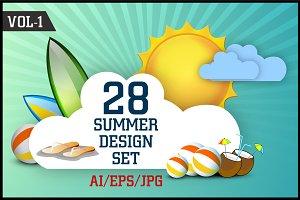 Summer Design Set Vol - 1