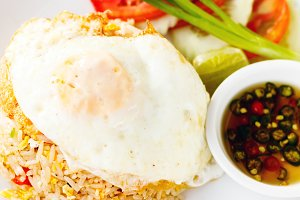 Fied rice with egg (Khao phat)