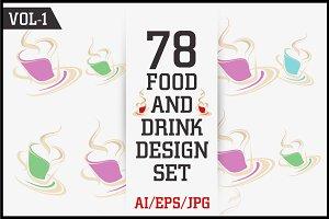 Food & Drink Design Set Vol - 1