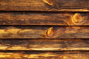 Rusty wooden background