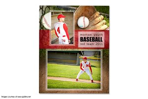 Baseball Memory Mate Template - MM1