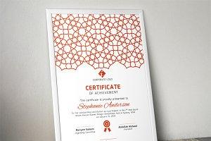 Islamic certificate template (docx)