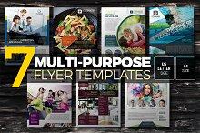 7-in-1 Multipurpose Flyers Bundle
