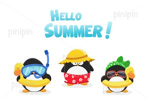Summer Penguins
