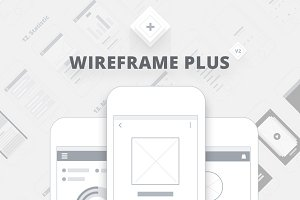 App Wireframes plus v.2