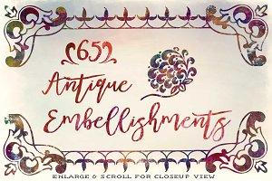 65 Vintage Embellishments